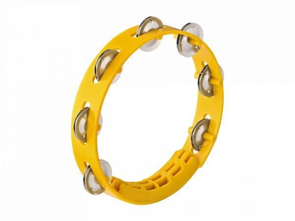 "NINO Percussion Compact ABS Tambourine 8"" - Yellow (NINO49Y)"