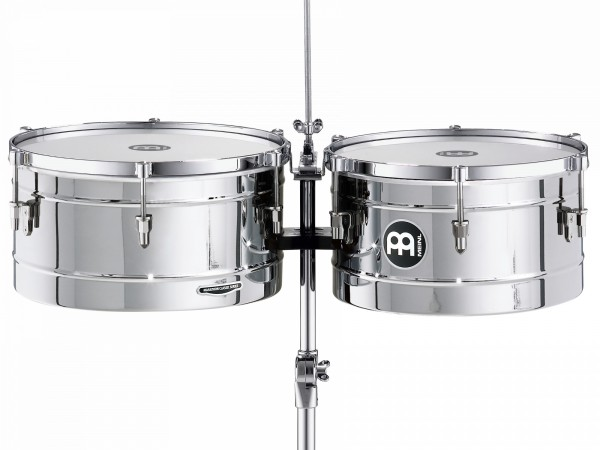 MEINL Percussion Marathon Series Timbales - Chrome (MT1415CH)
