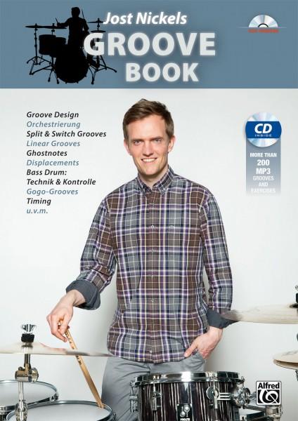 "Jost Nickel ""Groove Book"" textbook incl. MP3-CD - German (JNICKELGB-1)"