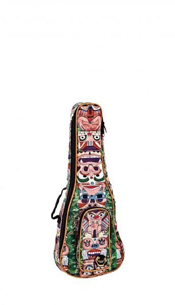 KEIKI Gigbag for Tenor Ukuleles with Shoulder Straps - Totem (KUB-TM-TE)
