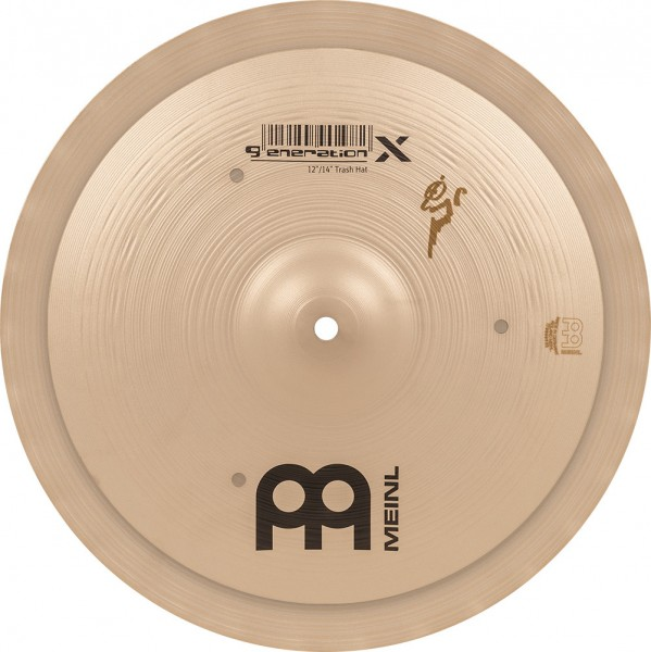 "MEINL Cymbals Generation X Signature Benny Greb Trash Hat - 12""/14"" Set (GX-12/14TH)"