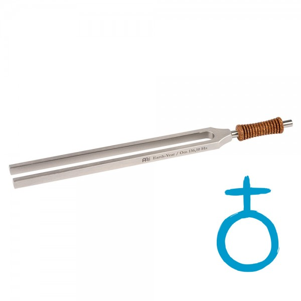 MEINL Sonic Energy Therapy Tuning Fork - Earth - 136.10 Hz (TTF-E)