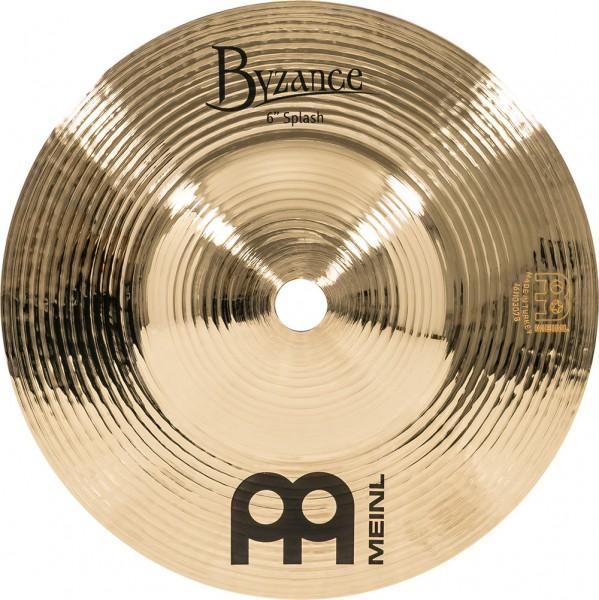 "MEINL Cymbals Byzance Brilliant Splash - 6"" (B6S-B)"