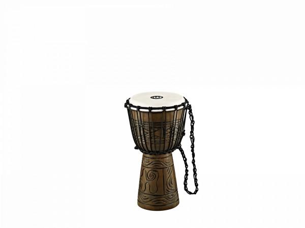 "MEINL Percussion Headliner Rope Tuned Artifact Series Djembe Small - 8"" Brown (HDJ17-S)"