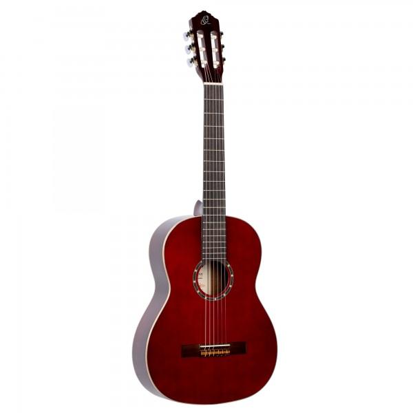 ORTEGA Classical Guitar Family Series 4/4 - wine red + Bag (R121WR)