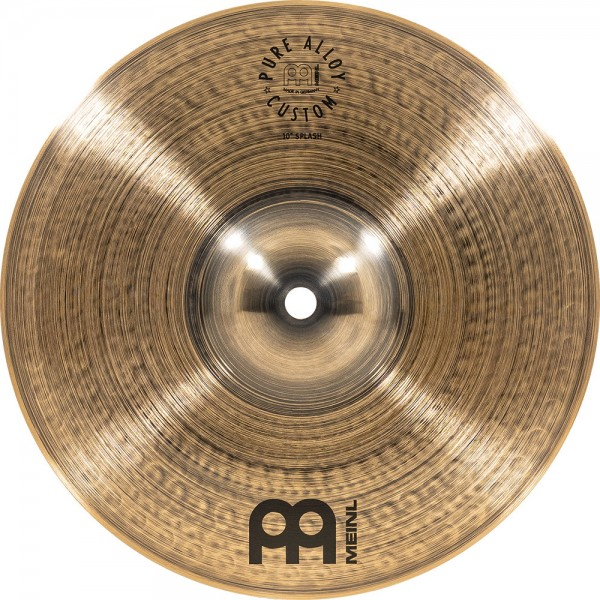 "MEINL Cymbals Pure Alloy Custom Splash - 10"" (PAC10S)"