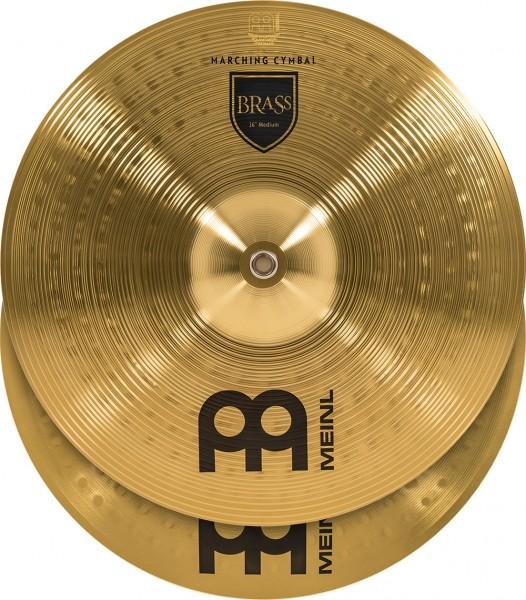 "MEINL Cymbals Marching Medium - 16"" Brass (MA-BR-16M)"