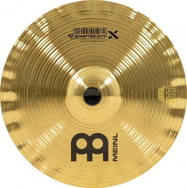 """MEINL Cymbals Generation X Signature Johnny Rabb Drumbal - 8"""" (GX-8DB)"""