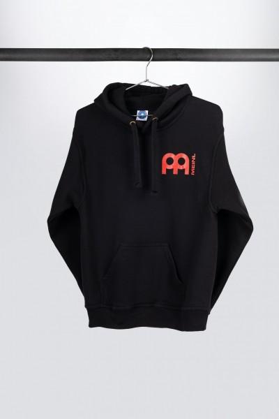 Black Meinl hooded sweatshirt with jawbreaker logo on back (M87)