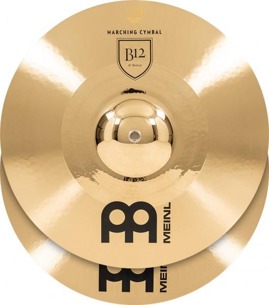 "MEINL Cymbals Marching Medium - 18"" B12 Bronze (MA-B12-18M)"