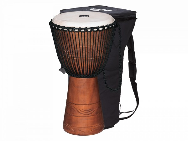 MEINL Percussion Water Rhythm Series Djembe - Extra Large with bag (ADJ2-XL+BAG)