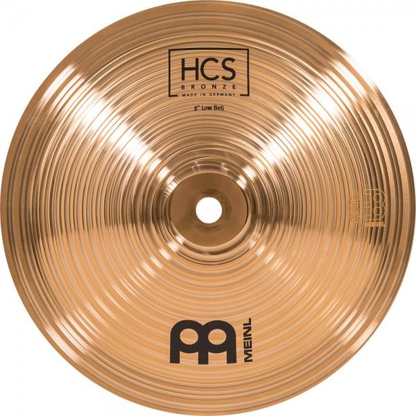 "MEINL Cymbals HCS Bronze Low Bell - 8"" (HCSB8BL)"