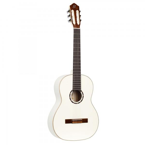 ORTEGA Classical Guitar Family Series 4/4 inclusive Gigbag - WH - White (R121WH)
