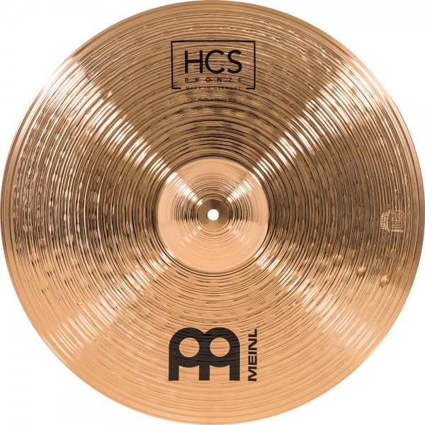 "MEINL Cymbals HCS Bronze Medium Heavy Ride - 20"" (HCSB20MHR)"