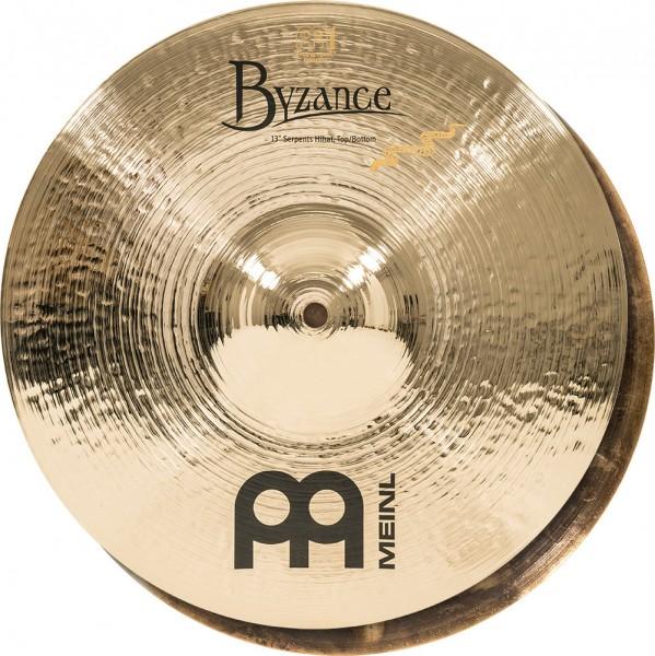 "MEINL Cymbals Byzance Brilliant Serpents Hihat - 13"" (B13SH-B)"