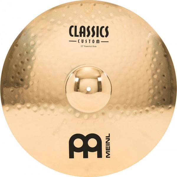 "MEINL Cymbals Classics Custom Powerful Ride - 22"" Brilliant Finish (CC22PR-B)"