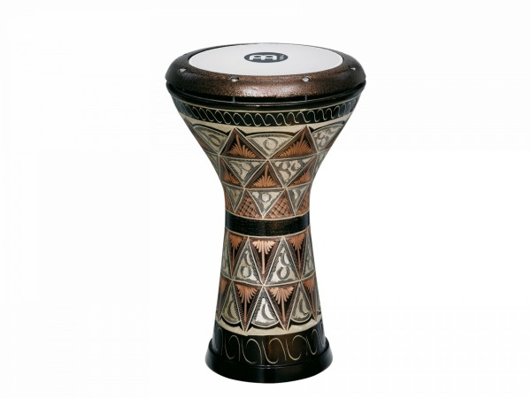 MEINL Percussion Copper Doumbek - Hand Engraved (HE-3012)