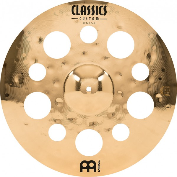 "MEINL Cymbals Classics Custom Trash Crash - 18"" Brilliant Finish (CC18TRC-B)"