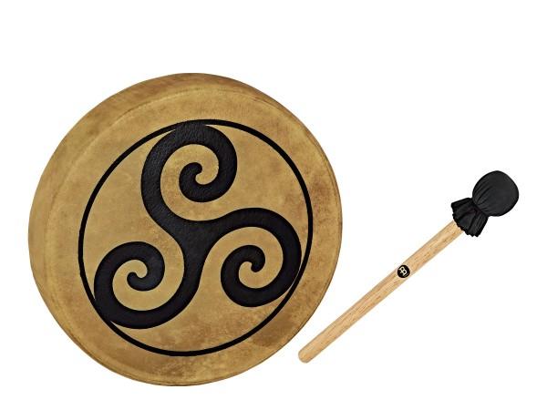 """MEINL Sonic Energy Native American-Style Hoop Drum - 15"""" / 38 cm Triskele (HOD15-TR)"""