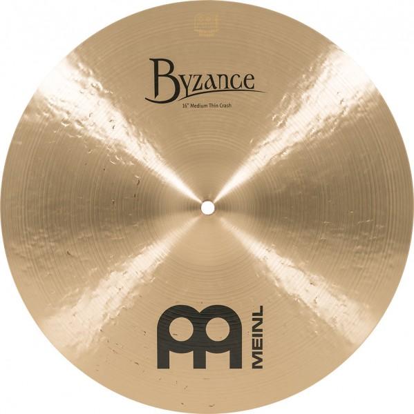 """MEINL Cymbals Byzance Traditional Medium Thin Crash - 16"""" (B16MTC)"""