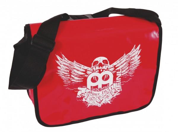 Red Meinl shoulder bag with jawbreaker frontprint (M-BAG-JB)