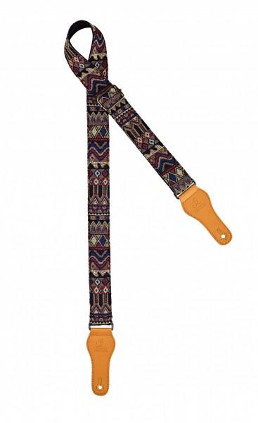 "ORTEGA ukulele strap - length 1390mm / 54,33"" (Max) / width 37mm - maya dance (OCS-470U)"