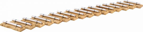 MEINL Sonic Energy Planetary Tuned Energy Chimes Complete Set-up - Content: 16 Energy Chimes (EC-SET-16)