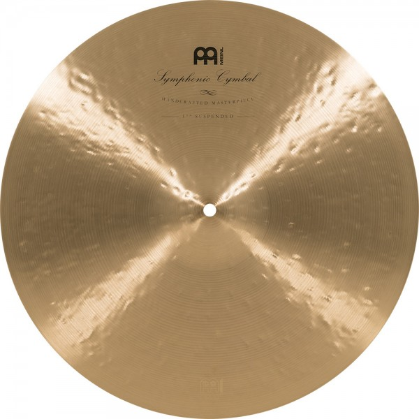"""MEINL Cymbals Symphonic Medium - 17"""" Traditional Finish (SY-17SUS)"""